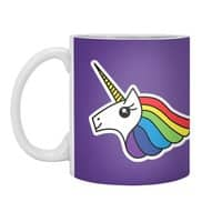 Team Rainbow Unicorn - white-mug - small view