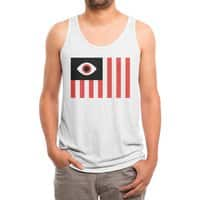 Stares and Stripes - mens-triblend-tank - small view