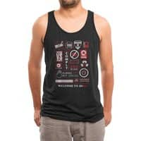 Welcome to 2082 - mens-triblend-tank - small view