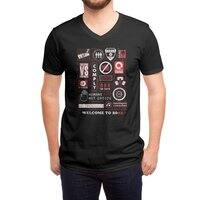 Welcome to 2082 - vneck - small view