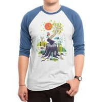 Nature will win - triblend-34-sleeve-raglan-tee - small view