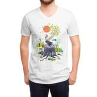 Nature will win - vneck - small view