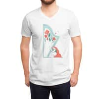 Floral Melody - vneck - small view