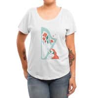 Floral Melody - womens-dolman - small view