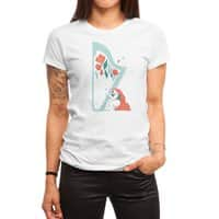 Floral Melody - womens-regular-tee - small view