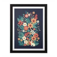 In Bloom - black-vertical-framed-print - small view