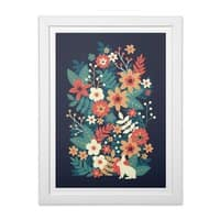 In Bloom - white-vertical-framed-print - small view