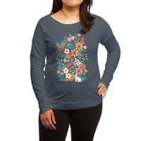 In Bloom - womens-long-sleeve-terry-scoop - small view
