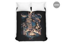 Night of the toy - duvet-cover - small view