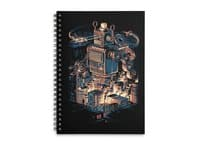 Night of the toy - spiral-notebook - small view