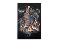 Night of the toy - vertical-stretched-canvas - small view
