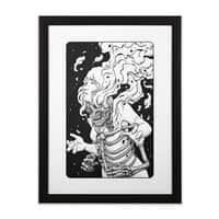 Psyche - black-vertical-framed-print - small view