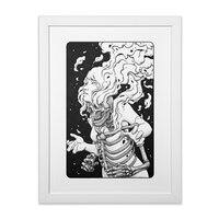 Psyche - white-vertical-framed-print - small view