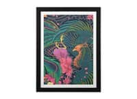 The Grand Phoenix - black-vertical-framed-print - small view