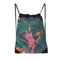 The Grand Phoenix - drawstring-bag - small view