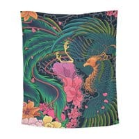 The Grand Phoenix - indoor-wall-tapestry-vertical - small view