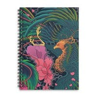 The Grand Phoenix - spiral-notebook - small view