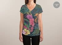 The Grand Phoenix - womens-sublimated-v-neck - small view