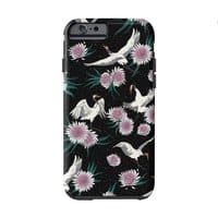 Crane Floral - double-duty-phone-case - small view