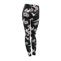 Crane Floral - leggings - small view