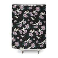 Crane Floral - shower-curtain - small view