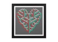 Impossible Love - black-square-framed-print - small view