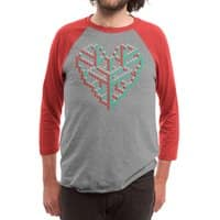 Impossible Love - triblend-34-sleeve-raglan-tee - small view