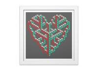 Impossible Love - white-square-framed-print - small view