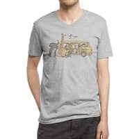 Missing Home - vneck - small view