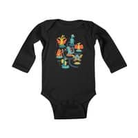 Tokyo Zoo - baby-long-sleeve-bodysuit - small view