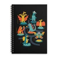 Tokyo Zoo - spiral-notebook - small view