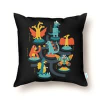 Tokyo Zoo - throw-pillow - small view