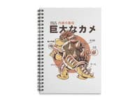 Bowserzilla - spiral-notebook - small view