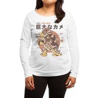 Bowserzilla - womens-long-sleeve-terry-scoop - small view