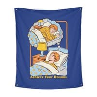 Achieve Your Dreams - indoor-wall-tapestry-vertical - small view