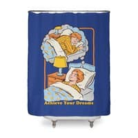 Achieve Your Dreams - shower-curtain - small view