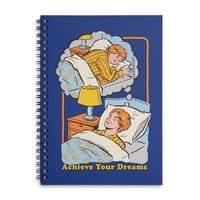 Achieve Your Dreams - spiral-notebook - small view