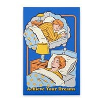 Achieve Your Dreams - vertical-stretched-canvas - small view