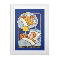 Achieve Your Dreams - white-vertical-framed-print - small view