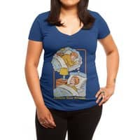 Achieve Your Dreams - womens-deep-v-neck - small view