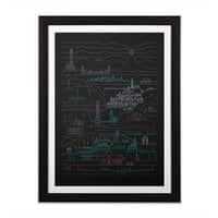 Epic Story Line - black-vertical-framed-print - small view