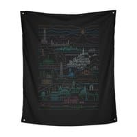 Epic Story Line - indoor-wall-tapestry-vertical - small view