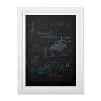 Epic Story Line - white-vertical-framed-print - small view