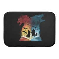 Book of Fire and Ice - bath-mat - small view
