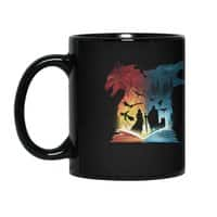 Book of Fire and Ice - black-mug - small view
