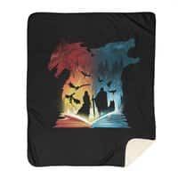 Book of Fire and Ice - blanket - small view
