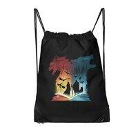 Book of Fire and Ice - drawstring-bag - small view