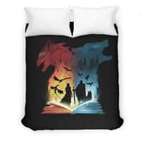 Book of Fire and Ice - duvet-cover - small view