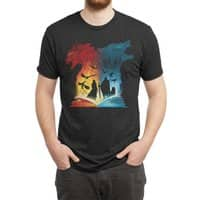 Book of Fire and Ice - mens-triblend-tee - small view