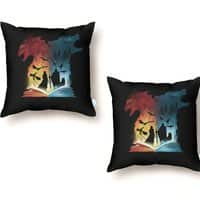 Book of Fire and Ice - throw-pillow - small view